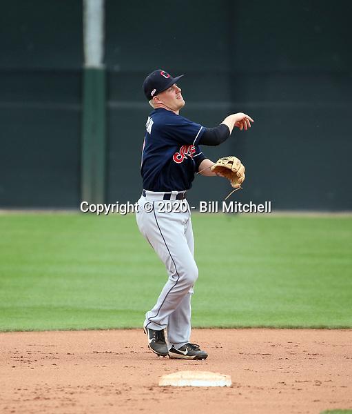 Ike Freeman - Cleveland Indians 2020 spring training (Bill Mitchell)