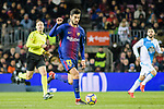 Andre Gomes of FC Barcelona in action during the La Liga 2017-18 match between FC Barcelona and Deportivo La Coruna at Camp Nou Stadium on 17 December 2017 in Barcelona, Spain. Photo by Vicens Gimenez / Power Sport Images