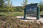 East Aldine esplanades and signage