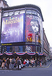 ATBK8E Les Miserables Queens theatre Shaftesbury Avenue West End London England