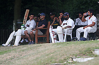 Ilford players look on during Wanstead and Snaresbrook CC vs Ilford CC, Shepherd Neame Essex League Cricket at Overton Drive on 17th June 2017