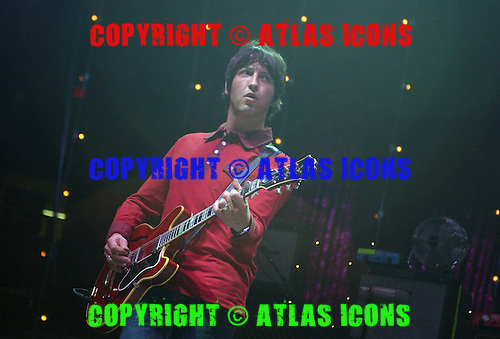 Oasis Performs At Madison Square Garden, In New York City, On 6-22-2005.Photo Credit: Eddie Malluk/Atlas Icons.com