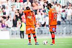 Stockholm 2014-05-24 Fotboll Superettan Hammarby IF - Varbergs BoIS FC  :  <br /> Varbergs Nsima Peter och Ali Sinan Ayranci deppar<br /> (Foto: Kenta J&ouml;nsson) Nyckelord:  Superettan Tele2 Arena HIF Bajen Varberg BoIS depp besviken besvikelse sorg ledsen deppig nedst&auml;md uppgiven sad disappointment disappointed dejected
