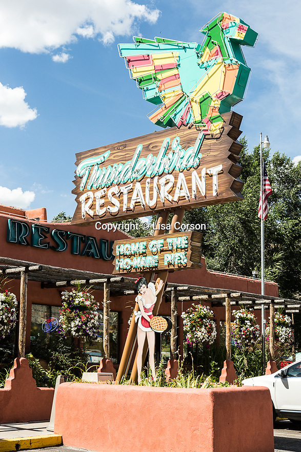 Thunderbird Restaurant, near the eastern entrance to Zion National Park. Mt Carmel, Utah.