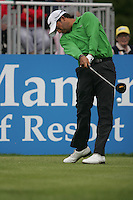 Pablo Larrazabal tees off on the 1st hole during the third round of the 2008 Irish Open at Adare Manor Golf Resort, Adare,Co.Limerick, Ireland 17th May 2008 (Photo by Eoin Clarke/GOLFFILE)