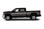Car driver side profile view of a 2018 GMC Sierra 2500HD 2WD Crew Cab Standard Box SLT 4 Door Pick Up