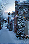 BRECKENRIDGE SNOW STREET SCENERY
