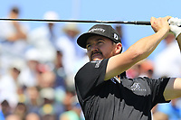 Jimmy Walker (USA) tees off the 1st tee to start his match during Thursday's Round 1 of the 117th U.S. Open Championship 2017 held at Erin Hills, Erin, Wisconsin, USA. 15th June 2017.<br /> Picture: Eoin Clarke | Golffile<br /> <br /> <br /> All photos usage must carry mandatory copyright credit (&copy; Golffile | Eoin Clarke)