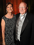 Shelly and Richard Perry at the 14th Annual San Luis Salute at the Galveston Island Convention Center Friday Feb 28, 2014.(Dave Rossman photo)