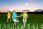 Darren O'Connor, Ballyduff and James McCarthy, Kilmoyley shake hands after the sides met in the Rhyno Quality Feeds sponsored North Kerry Senior Hurling Championship final last Saturday evening in Abbeydorney.