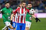 "Atletico de Madrid's Saul Iniguez during the match of ""Copa del Rey"" between Atletico de Madrid and Gijuelo CF at Vicente Calderon Stadium in Madrid, Spain. december 20, 2016. (ALTERPHOTOS/Rodrigo Jimenez)"