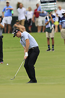 Brendan Steele (USA) chips onto the 10th green during Friday's Round 2 of the 2017 PGA Championship held at Quail Hollow Golf Club, Charlotte, North Carolina, USA. 11th August 2017.<br /> Picture: Eoin Clarke | Golffile<br /> <br /> <br /> All photos usage must carry mandatory copyright credit (&copy; Golffile | Eoin Clarke)