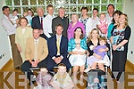 Baby Joy - Aidan & Fidelma Dillon from Ard Connell, Ardfert, seated centre having a wonderful time with family and friends at the Christening celebrations for their son William in The Ballyroe Heights Hotel following the ceremony in St. Brendan's Church Ardfert...................................................................................................................................................................................................................... ............