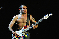 Flea and the The Red Hot Chili Peppers Perform at the LA Forum