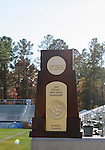 10 December 2005: The NCAA Division I Men's Soccer Championship Trophy at SAS Stadium in Cary, NC..