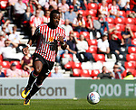 Lamine Kone of Sunderland during the Championship match at the Stadium of Light, Sunderland. Picture date 9th September 2017. Picture credit should read: Simon Bellis/Sportimage