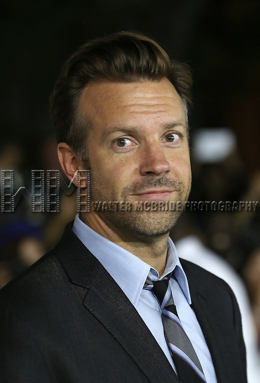 """Jason Sudeikis during the 2013 Tiff Film Festival Gala Red Carpet Premiere for """"Rush""""  at the Roy Thomson Theatre  on September 8, 2013 in Toronto, Canada."""