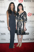 May 21, 2012 Dayana Mendoza and Cu Cu Diamantes at the 10th Anniversary gala of the Wayuu Taya Foundation at the Dream Downtown Hotel in New York City. Credit: RW/MediaPunch Inc.