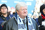 07 December 2013: Kansas City co-owner Cliff Illig. MLS Cup 2013 was played between Sporting Kansas City and Real Salt Lake at Sporting Park in Kansas City, Kansas. Sporting Kansas City won the championship by winning the penalty kick shootout 7-6 after the game ended in a 1-1 tie.