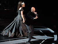 Common and Andra Day perform during the live ABC Telecast of The 90th Oscars&reg; at the Dolby&reg; Theatre in Hollywood, CA on Sunday, March 4, 2018.<br /> *Editorial Use Only*<br /> CAP/PLF/AMPAS<br /> Supplied by Capital Pictures