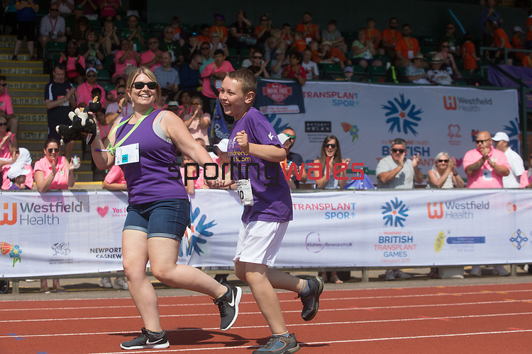 Kidney Care UK - British Transplant Games 2019.<br /> Newport Stadium<br /> 28.07.19<br /> ©Steve Pope<br /> Sportingwales