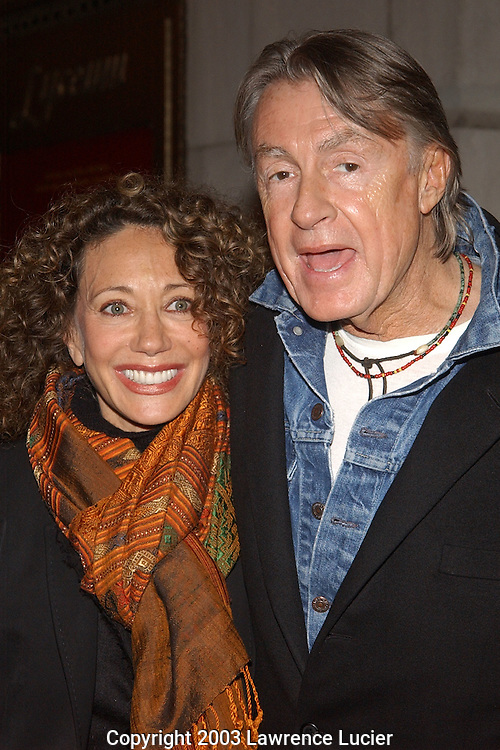 Marisa Berenson and Joel Schumacher