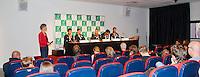 11-sept.-2013,Netherlands, Groningen,  Martini Plaza, Tennis, DavisCup Netherlands-Austria, Press conference, Dutch Team <br /> Photo: Henk Koster