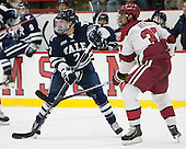 Matt Killian (Yale - 7), Desmond Bergin (Harvard - 37) - The visiting Yale University Bulldogs defeated the Harvard University Crimson 2-1 (EN) on Saturday, November 15, 2014, at Bright-Landry Hockey Center in Cambridge, Massachusetts.