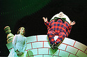 Katherine Heath,Martyn Ellis  in Alice in Wonderland and Through the Looking Glass at the RSC Barbican Theatre opens on 13/11/01  pic Geraint Lewis