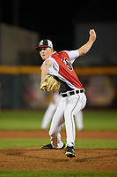 Erie SeaWolves pitcher Nolan Blackwood (36) during an Eastern League game against the Portland Sea Dogs on June 17, 2019 at UPMC Park in Erie, Pennsylvania.  Portland defeated Erie 6-3.  (Mike Janes/Four Seam Images)