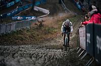 race leader VAN DER POEL Mathieu (NED/Corendon-Circus) <br /> <br /> GP Sven Nys (BEL) 2019<br /> DVV Trofee<br /> ©kramon