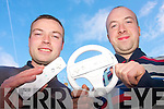 Listowel Macra na Feirme are organising a fun Wii championship to raise funds for the organisation which  offers a social outlet for men and women in North Kerry. .L-R Pro Mike Carmody and Chairperson Fergus Scannell who are calling on everyone to brush up on their Nintendo Wii skills for the fun event.