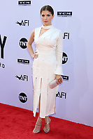 HOLLYWOOD, CA - JUNE 7: Anna Kendrick at the American Film Institute Lifetime Achievement Award Honoring George Clooney at the Dolby Theater in Hollywood, California on June 7, 2018. <br /> CAP/MPI/DE<br /> &copy;DE//MPI/Capital Pictures