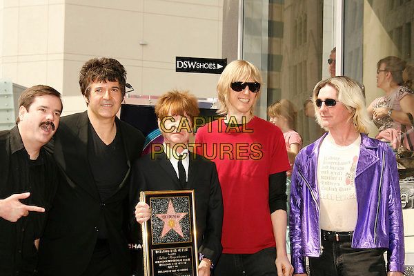CLEM BURKE, RODNEY BINGENHEIMER & FRIENDS.Rodney Bingenheimer Ceremony for the 2,330th Star On The Hollywood Walk Of Fame, Hollywood, California, USA,.09 March 2007..half length.CAP/ADM/RE.©Russ Elliot/AdMedia/Capital Pictures.