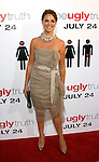 """HOLLYWOOD, CA. - July 16: Katherine Heigl arrives at the Los Angeles premiere of """"The Ugly Truth"""" held at the Pacific's Cinerama Dome on July 16, 2009 in Hollywood, California."""