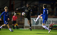 Lamine Kaba Sherif of Leicester City U23 during the Under 23 Premier League 2 match between Chelsea U23 and Leicester City U23 at the Electrical Services Stadium, Aldershot, England on 2 February 2018. Photo by Andy Rowland / PRiME Media Images.