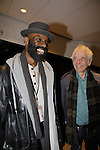"One Life To Live Timothy Stickney ""RJ Gannon"" stars in Shakespeare's King Lear on April 19, 2014 at Theatre for a New Audience - Polonsky Shakespeare Center, Brooklyn, New York and he poses with actor Austin Pendleton (also was on OLTL) and who performed with Timothy in Romeo and Julliet in Shakespeare in the Park, New York City, NY. (Photo by Sue Coflin/Max Photos)"