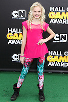 SANTA MONICA, CA, USA - FEBRUARY 15: Jordyn Jones at the 4th Annual Cartoon Network Hall Of Game Awards held at Barker Hangar on February 15, 2014 in Santa Monica, California, United States. (Photo by David Acosta/Celebrity Monitor)