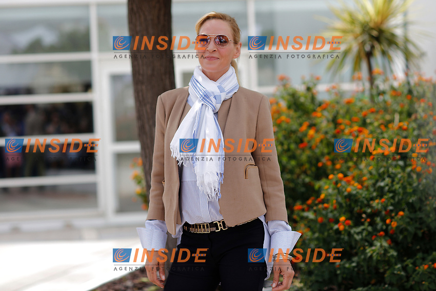 Uma Thurman<br /> Cannes 18-05-2017 70&deg;Edizione Festival del Cinema di Cannes. <br /> Foto Panoramic / Insidefoto