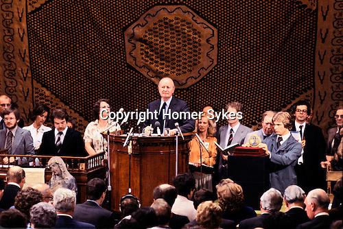 SOTHEBYS AUCTION VON HIRSCH COLLECTION MOSAN MEDALLION SOLD FOR $2214,000, Robert Von Hirsch collection sale at Sotheby's Bond Street London 1978 Peter Wilson Chairman auctioneer