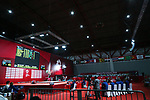 General view, <br /> AUGUST 21, 2018 - Weightlifting : <br /> Women's 53kg <br /> at JIExpo Kemayoran Hall A <br /> during the 2018 Jakarta Palembang Asian Games <br /> in Jakarta, Indonesia. <br /> (Photo by Naoki Nishimura/AFLO SPORT)
