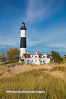 64795-01008 Big Sable Point Lighthouse on Lake Michigan, Mason County, Ludington, MI