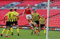 second goal scored for Salford City by Carl Piergianni of Salford Citynduring AFC Fylde vs Salford City, Vanarama National League Play-Off Final Football at Wembley Stadium on 11th May 2019