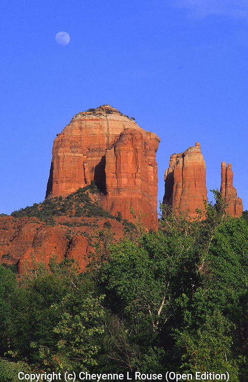 Sedona Moon - Arizona<br /> (Open Edition)