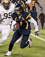 WVU running back Tavon Austin. The West Virginia Mountaineers defeated the Pittsburgh  Panthers 19-16 on November27, 2009 at Mountaineer Field at Milan Puskar Stadium, Morgantown, West Virginia.