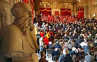 Apertura Anno Giudiziario nel distretto di Napoli nello storico salone dei Busti di Castel Capuano