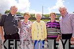 Pictured in a sun drenched Dromid for the opening of the new extension on Sunday were l-r; Fr John Keirn, Mary Sheehan, Peggy Curran, Sheila Maloney & Dan Tim O'Sullivan.