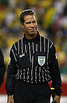 12 September 2007: Assistant Referee C.J. Morgante. The Brazil Men's National Team defeated the Mexico Men's National Team 3-1 at Gillette Stadium in Foxborough, Massachusetts in an international friendly.