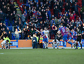 24th March 2018, McDiarmid Park, Perth, Scotland; Scottish Football Challenge Cup Final, Dumbarton versus Inverness Caledonian Thistle; Carl Tremarco of Inverness Caledonian Thistle celebrates after scoring the only goal of the game for 1-0 in added time at the end of the Irn-Bru Cup Final