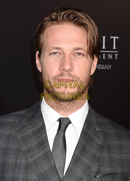BEVERLY HILLS, CA - OCTOBER 24: Actor Luke Bracey attends the screening of Summit Entertainment's 'Hacksaw Ridge' at Samuel Goldwyn Theater on October 24, 2016 in Beverly Hills, California.<br /> CAP/ROT/TM<br /> &copy;TM/ROT/Capital Pictures